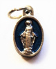 Miraculous Medal Blue Charm