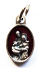 Holy Family Red Charm